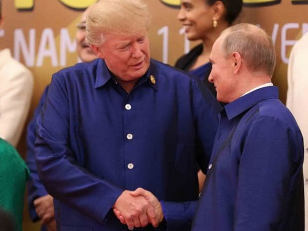 Дональд Трамп, Володимир Путін