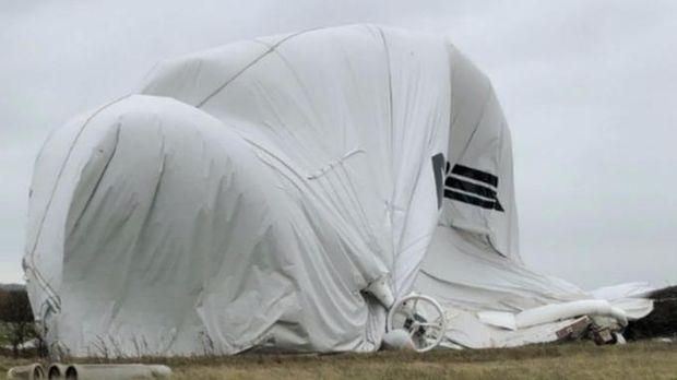 У Великій Британії впав гібридний дирижабль Airlander 10