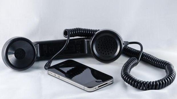 Гарнітура в формі слухавки для iPhone