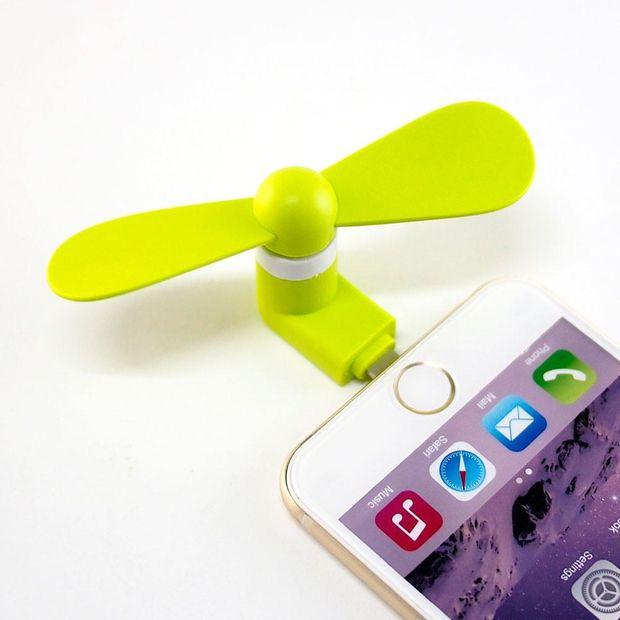 Кишеньковий вентилятор для iPhone