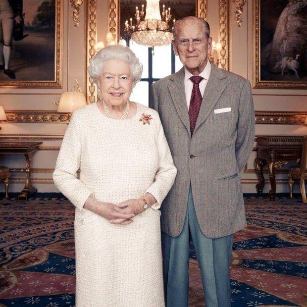 Портрет королеви Єлизавети і принца Філіпа