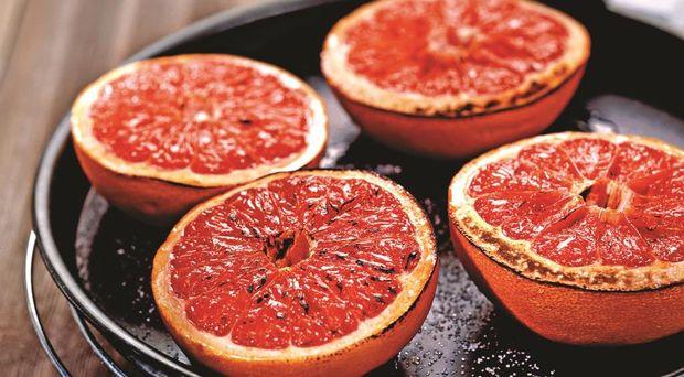 Запечений грейпфрут