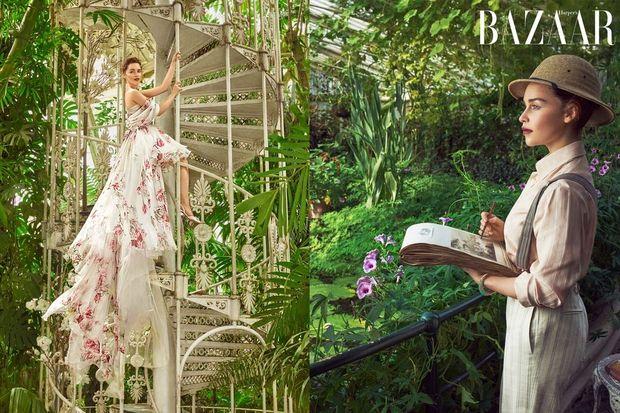 Емілія Кларк, зйомка для Harper's Bazaar