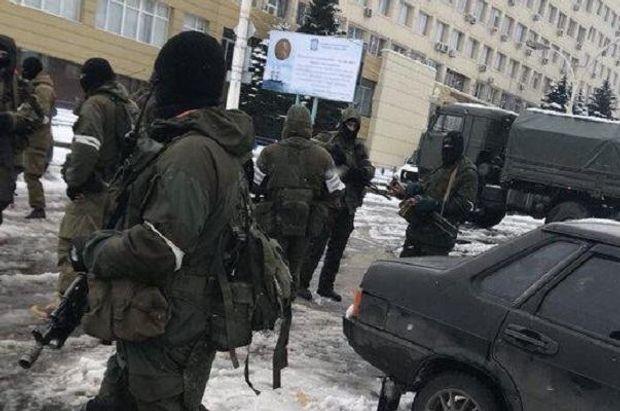 Ситуація в Луганську 22 листопада