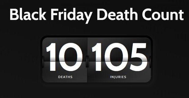 Чорна п'ятниця: статистика смертей