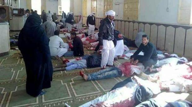 Єгипет теракт у мечеті