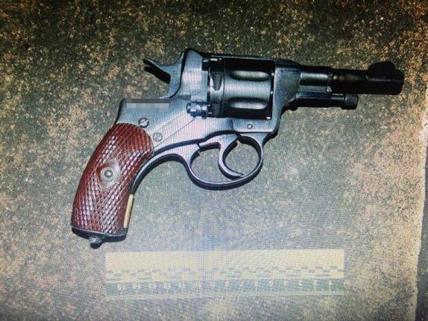 Вилучена у кримінальних авторитетів зброя