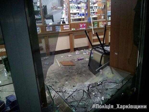 Вибух в аптеці Харкова