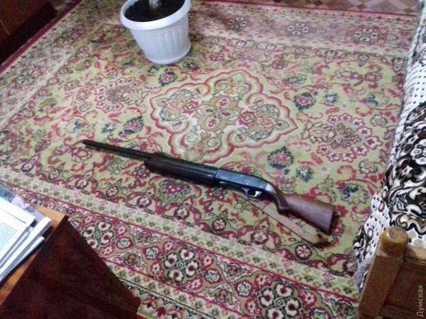 Одеса, стрілянина, Кримінал, зброя