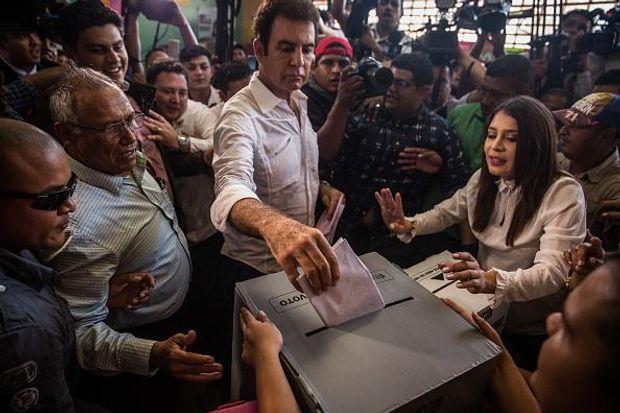 Сальвадор Насралла на виборах у Гондурасі