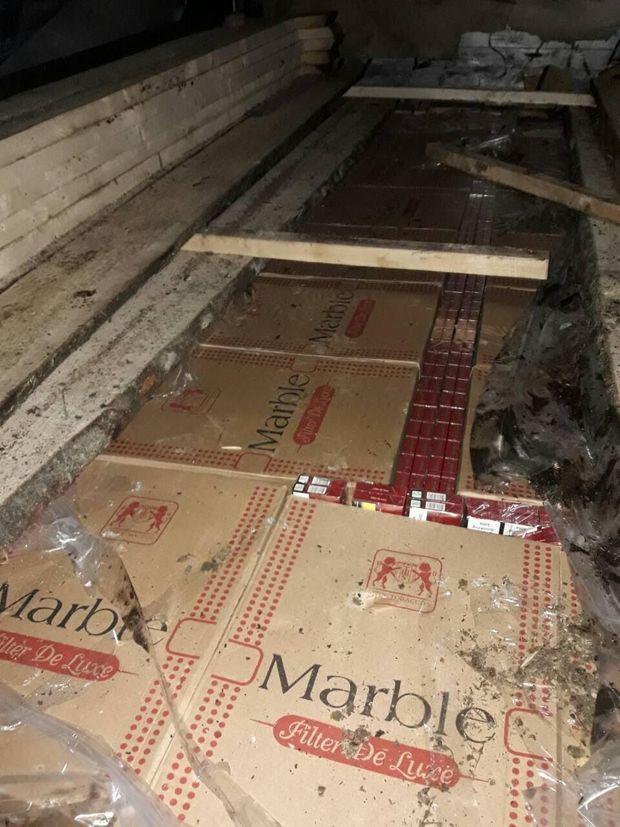 На Закарпатті затримали партію контрабандних цигарок