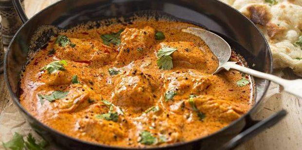 Рецепт курки у вершково-томатному соусі