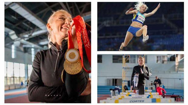 Від української легкоатлетки Оксани Зубковської шаленіє увесь спортивний світ