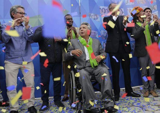 Ленін Морено успішно керує Еквадором з інвалідного візка