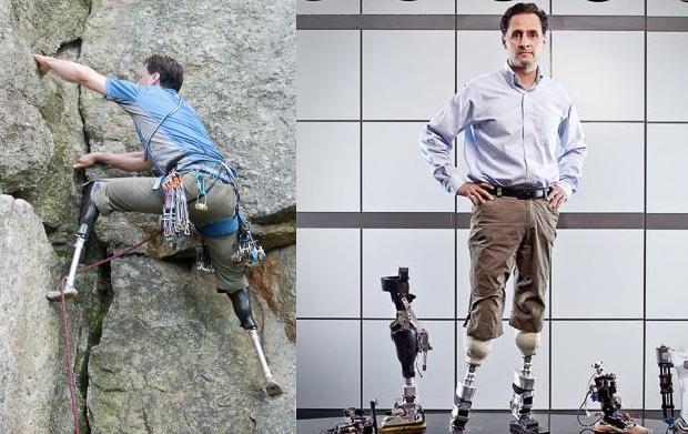 Х'ю Герр – один із найвідоміших спеціалістів з протезування