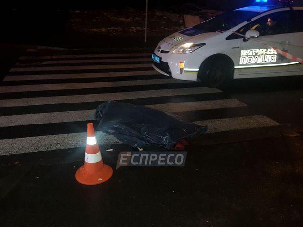У Києві збили пішохода