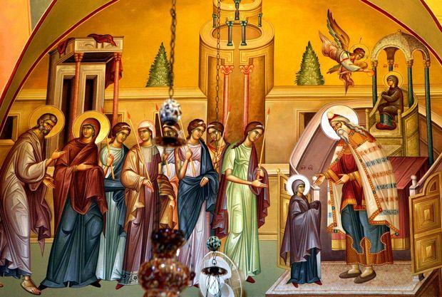 Введення у храм Пресвятої Богородиці: історія свята