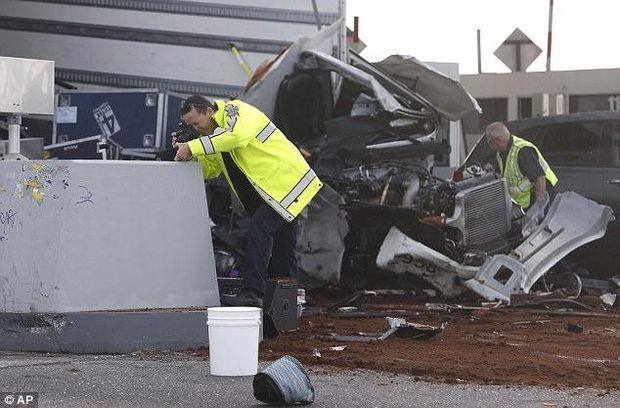 Каліфорнія аварія