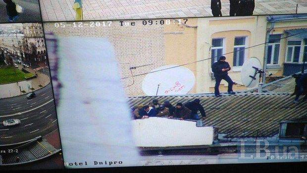 Міхеїла Саакашвілі затримали на даху будинку