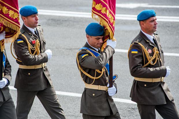 Військові ЗСУ парад