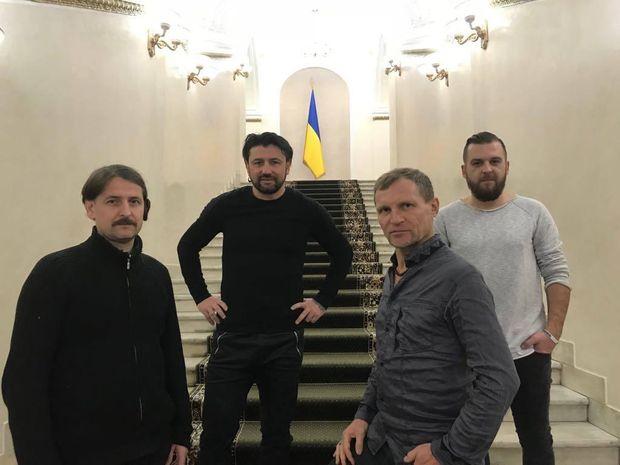 Скрипка презентував Марш Нової Армії