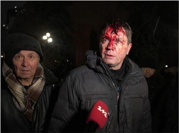 Протесты, Саакашвили, штурм, палаточный городок, Киев