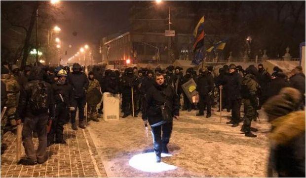 Семенченко, Саакашвили, штурм, Киев