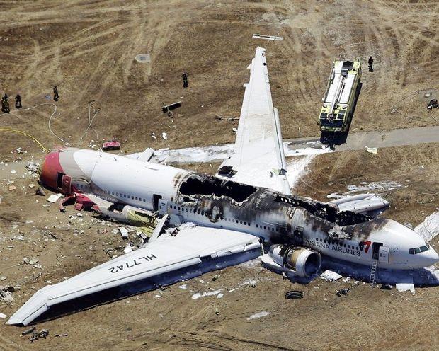 Авіакатастрофа у 2013 році у Сан-Франциско сталась через