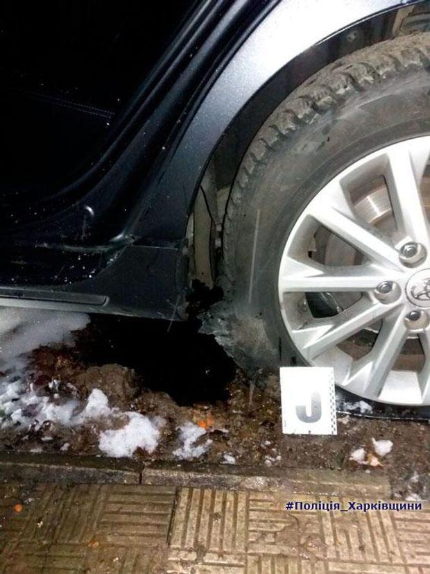 Підрив авто у Харкові