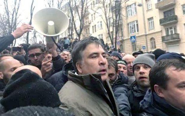 Саакашвили направляется к Раде