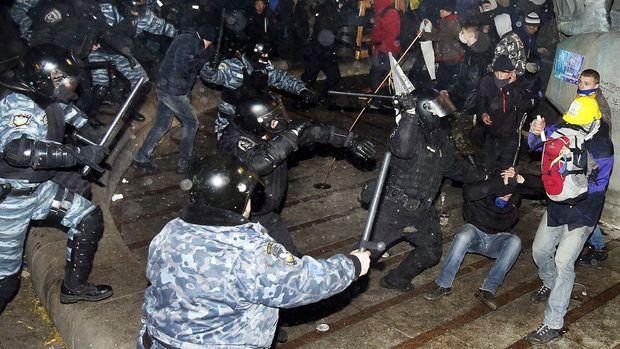 Побиття людей берткутівцями у Києві