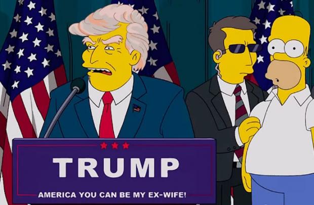 Трамп Сімпсони