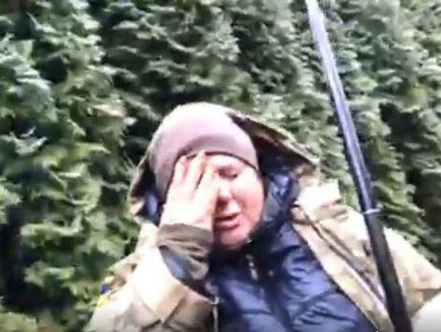 Олег Барна вдарив кулаком в око учасницю автопробігу Аллу