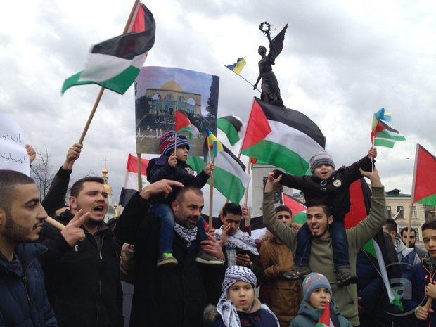 Протести палестинців у Харкові