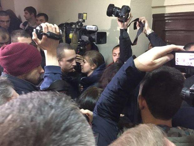 Суд Саакашвілі журналісти