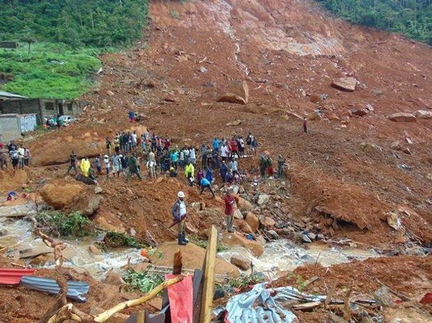 Зсув у Сьєрра-Леоне забрав понад 500 життів