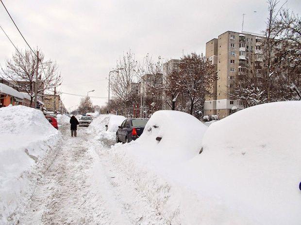 Аномальні морози у Європі: Бухарест завалило снігом