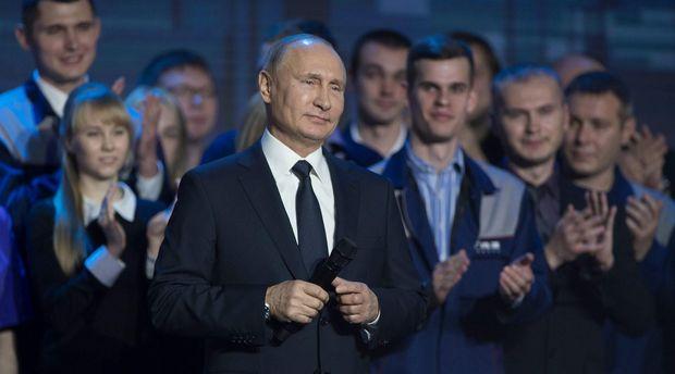 Путин идет на выборы 2018