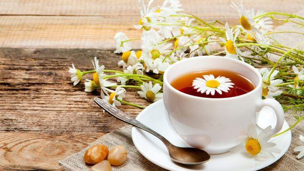 Чай з ромашкою при застуді