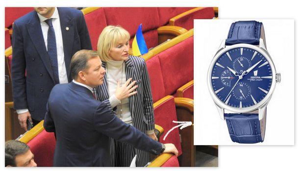 Ляшко, годинник, Радикальна партія, гроші