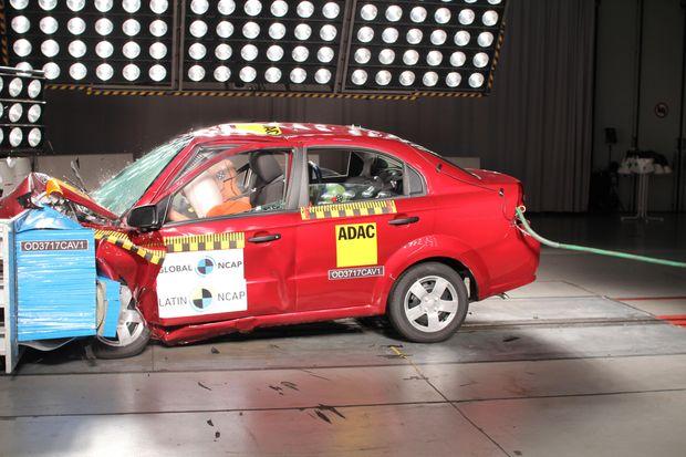 Краш-тест Chevrolet Aveo: подушки не помогли
