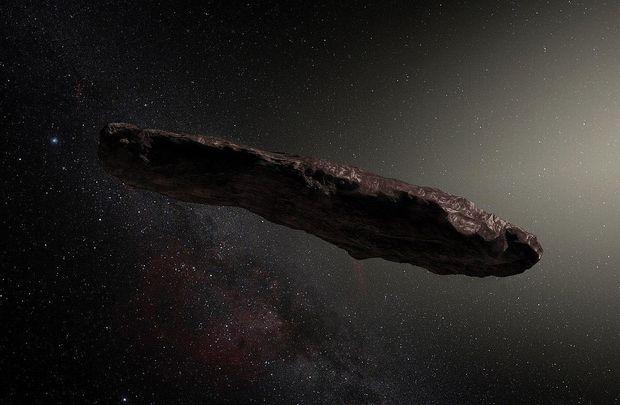Оумуамуа похожый на космический корабль