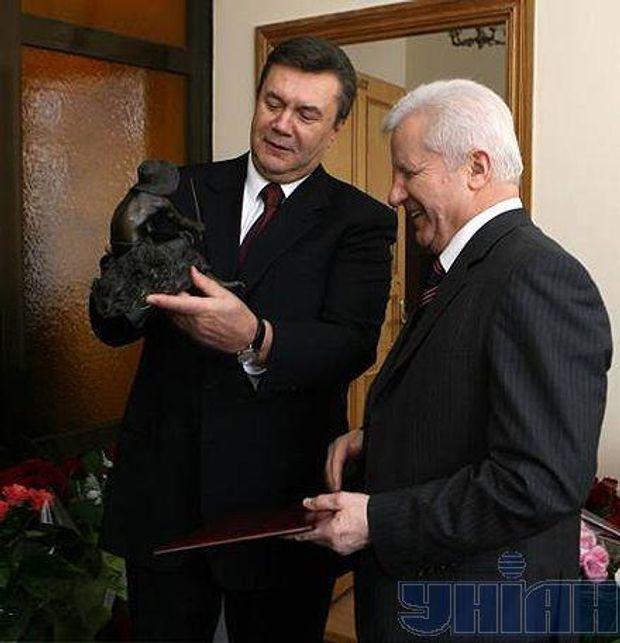 Янукович  Мороз