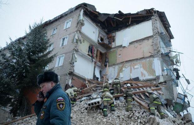 В Росії обвалився житловий будинок