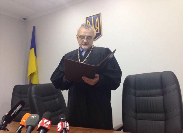 Суддя Олег Лінник