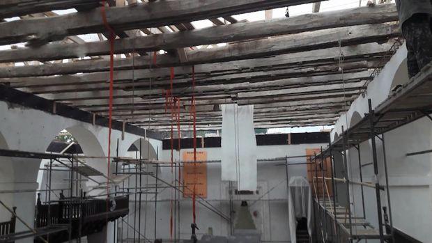 Реставрація Ханського палацу в Бахчисараї
