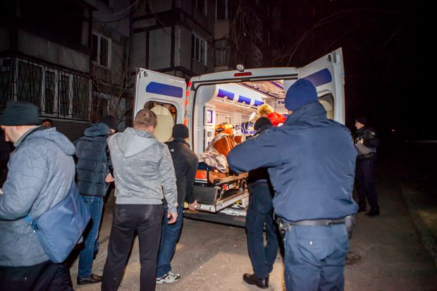 Дніпро вибух поліція