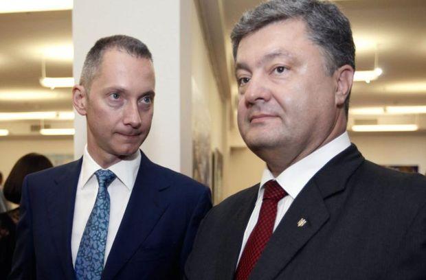 Ложкін і Порошенко
