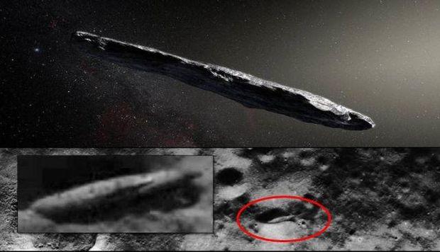 космос астероїд Оумуамуа