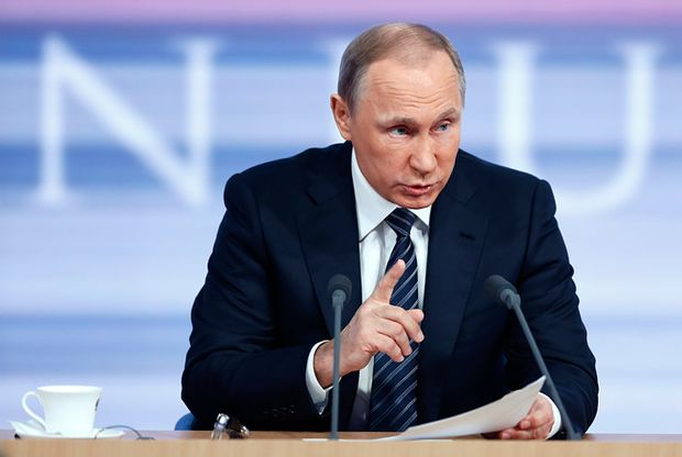 Пресс–конференция Путина